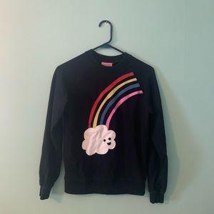 Lazy Oaf rainbow sweatshirt